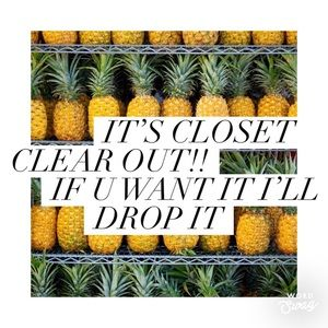 Closet Clear Out SALE Today & Discounted Shipping